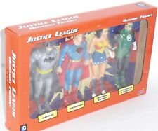 DC Comics Justice League 4 Piece Bendable Figure Set Batman Superman Wonderwoman