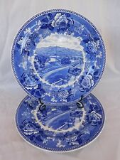 Fort Ticonderoga On Lake Champlain WEDGWOOD Historical Plate 1 of 2 available