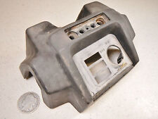 87 HONDA TRX350 FOURTRAX HANDLEBAR COVER INSTRUMENT & IGNITION SWITCH PANEL PAD