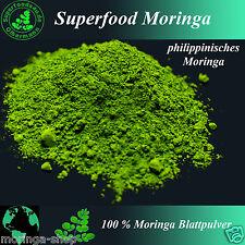 1000 g Moringa - 100 % reines Moringablattpulver, 1A Premium Rohkostqualität
