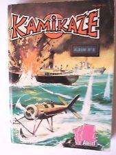 KAMIKAZE ALBUM N° 6  ( 50 / 51 / 52  ) de 1985 TBE