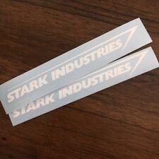 (2x) Stark Industries Decal | Vinyl Window Die Cut Sticker Marvel Iron Man Comic