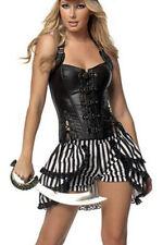 Faux Leather Zip Everyday Lingerie & Nightwear for Women
