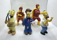 The Simpsons Action Figure Bundle - Homer Simpson Bundle - Fox 2007