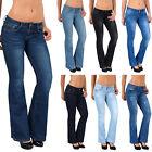 Damen Bootcut Jeans Damen Jeanshose Bootcut Schlaghose Hüftjeans Top Modelle G40