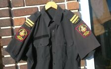 Canadian Forces MP Military Police Short Sleeve Shirt Size 17.5 XL Captain Ranks