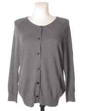 ISABEL MARANT ETOILE Women's Wool Cotton Button Cardigan Grey Long Sleeve 44
