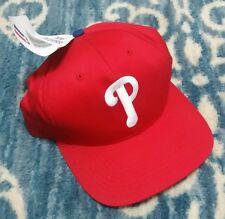 6abfc12525ea0 Philadelphia Phillies Vintage 90s Snapback hat MLB Tags Twins Enterprise NWT