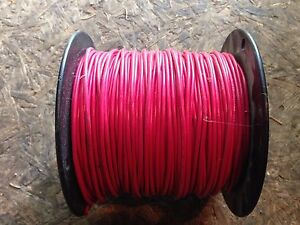 MTW 10 12 14 16 18 AWG GAUGE COPPER STRANDED MACHINE TOOL WIRE