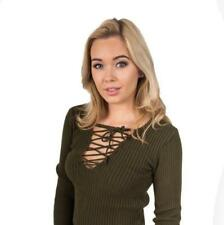 All Seasons Tie Acrylic Jumpers & Cardigans for Women