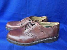 DUCK HEAD Saddle Oxfords 2 Tone Loafers Dress Casual LEATHER Mens Shoes Sz 8