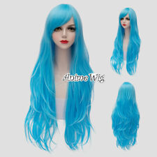 Damen Lolita Medium Pony Gothic Anime Cosplay Wig Cap Hitzefest Seidige Alltage