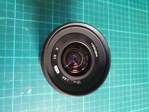 Walimex Pro 12mm f/2,0 NCS CS Objektiv für Sony E-Mount - Schwarz