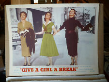 GIVE A GIRL A BREAK, orig 1953 LC #7 (Marge Champion, Debbie Reynolds)