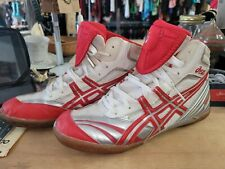 Asics wrestling shoes, Size 11, Red & White