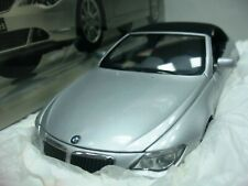 WOW EXTREMELY RARE BMW E64 645ci Soft Top 2004 Silver 1:18 Kyosho-Auto Art/GTR/M
