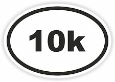 Marathon Oval Sticker 10k Runner Mile Km Run Bike Helmet Bicycle Car Truck Boat
