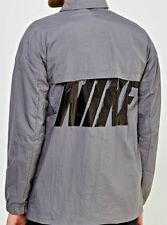 AUTHENTIC NIKE MEN'S NSW WOVEN HYBRID SNAP BUTTON WIND JACKET 885953-036
