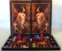 Artemis Decoupage Backgammon Set