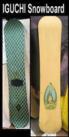 Snowboard Arbor Bryan Iguchi 155CM Snow Board  Brand is Burton last made
