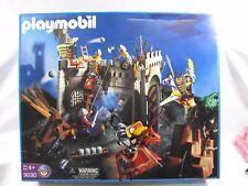 New Geobra Playmobil #3030 KNIGHTS CASTLE ADVENTURE SET Sealed Box 2001 Vintage