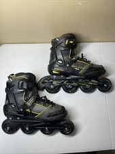 Roller Derby Elite Speed RACE Q-60 Men's AERIO Inline Skates Size 9 Gold-7 TRS