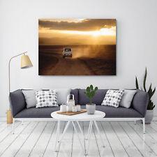 Leinwandbild, 100x70cm, Volkswagen, VW Bus, Kunst, 16isa Leinwandbilder