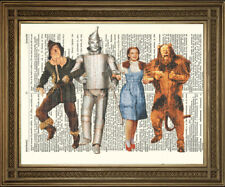 WIZARD OF OZ PRINT: Vintage Dictionary Page Art