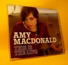 NEW MAXI Single CD Amy Macdonald This Is The Life 2TR 2007 Folk Pop Rock