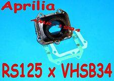 COLLETTORE NUOVO per  VHSB34 Aprilia RS 125 Motore  ROTAX 122 123 + guarnizioni
