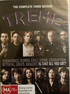 TREME - Complete Third Season 4 x DVD 2012 Three Series 3 Brand New 0621