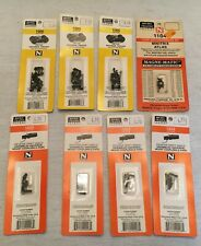 Micro-Trains Line N Scale Arch-Bar Trucks Mount Couplers 1005 & 1023 Lot NEW