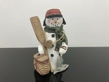 Sarah's Attic Limited Edition Figurine Woody the Snowman 1996