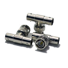 25 pack BNC 1 Male to 2 Female T Type Splitter CCTV