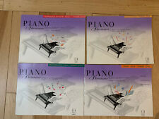 piano method books -Lot Of Four piano Adventures