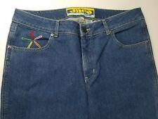 jnco Chimes women's size 17 Flare Punk Hippie Rave Scene Emo bell bottoms