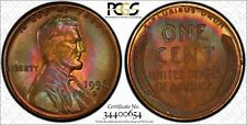 1956 D LINCOLN WHEAT CENT PENNY 1C PCGS CERTIFIED MS 66 RB RED BROWN UNC (654)