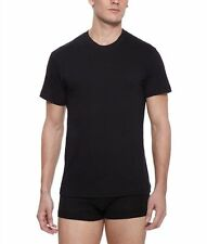 "2(x)ist Men's Essential Crew Neck One Black Tee 100% Cotton Size ""Small"""