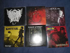 Stock 6 Promo CD Heavy Metal Nu Metal Rock EXILIA KOTTAK BIRDS OF PREY DIRTY RIG