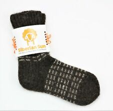 New Handmade 100% Wool Socks Outdoors Fishing Hiking Hunting Men's Size 11-13