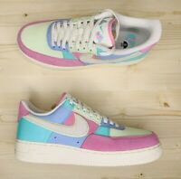 Nike Air Force 1 '07 QS Easter Egg Ice Blue Turquoise AH8462-400 Men's Size 10