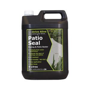 "Bond It Drive Alive ""Patio Seal"" Solvent Free Block Pavior + Slab Sealer 5 Litre"