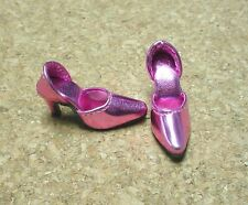 Doll Shoes, 42mm METALLIC LT PINK Easy to Wear for Sybarite, MA Alex