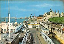 BG5323  ponton flandria  car voiture ship bateaux   antwerpen anvers  belgium
