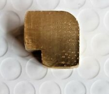 """1/8"""" FNPT Brass Extruded Union 90° Elbow"""