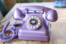Crosley Vintage Style Push Button Purple Telephone Kettle Classic