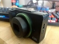 Ricoh GR II. Working with defects on pictures.