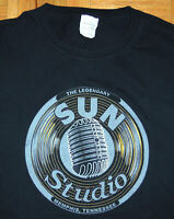 Sun Studio T Shirt Johnny Cash Elvis Presley BB King Memphis Country Rock Large