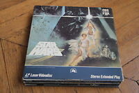 Star Wars: A New Hope (1977) Laserdisc LD NTSC OBI CLV PILF-1236 LUCAS FILM FORD