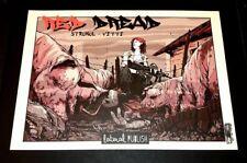 Alessandro Vitti stampa 42x30 firmata Red Dread 1° soggetto Lateral Studio